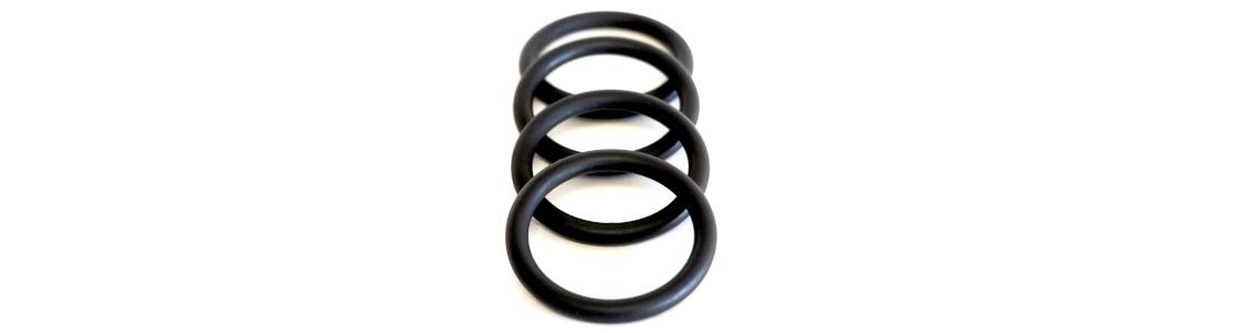 O-Ringe schwarz