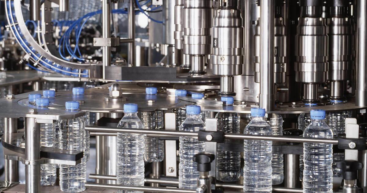 Produktion Wasserflaschen