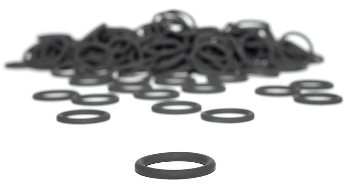 Schwarze FKM O-Ringe