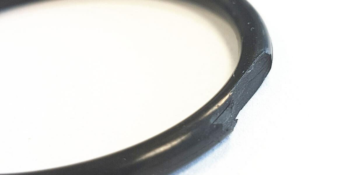 Schadensbild O-Ring Spaltextrusion