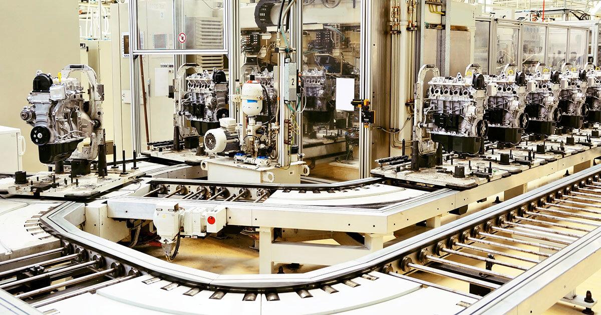 Produktionslaufband